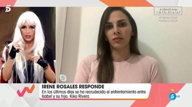Irene Rosales defiende a Kiko Rivera de los ataques de Lequio y Joaquín Prat