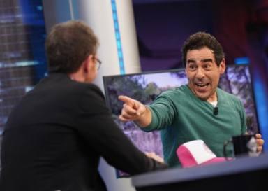 Pablo Motos con Pablo Chiapella en El Hormiguero