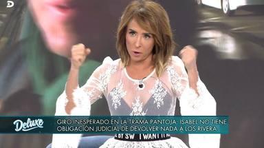 El enfado de María Patiño con Fran Rivera por metir en su guerra con Isabel Pantoja
