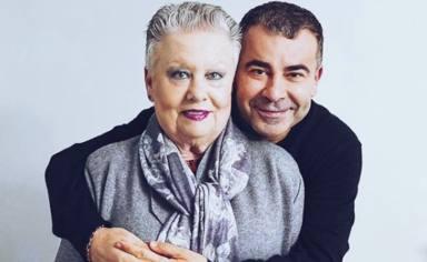 Jorge Javier Vázquez y su madre