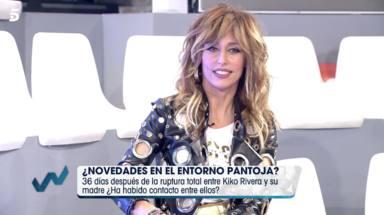 Emma García le pregunta a Irene Rosales si Isabel Pantoja felicitó a su hija
