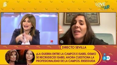 Duro enfrentamiento entre Anabel Pantoja y Gema López en Sálvame