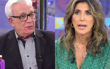 """Paz Padilla hace estallar al doctor Sánchez Martos en pleno directo en 'Sálvame': """"Déjame terminar, hombre"""""""