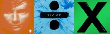 Portadas de los discos de Ed Sheeran