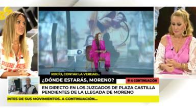 Rosa Benito reta a Marta López a preguntarle algo muy importante a Rocío Carrasco: Que lo haga en Sálvame