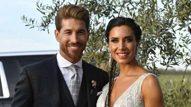 Sergio Ramos y Pilar Rubio en su boda