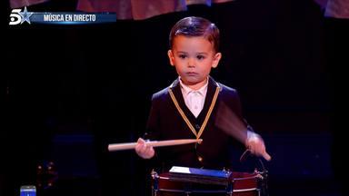"""Fran, el niño tamborilero, vuelve a dejarnos alucinados con su actuación en """"Got Talent"""""""