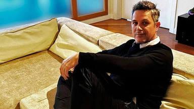 Alejandro Sanz, en casa en pleno confinamiento