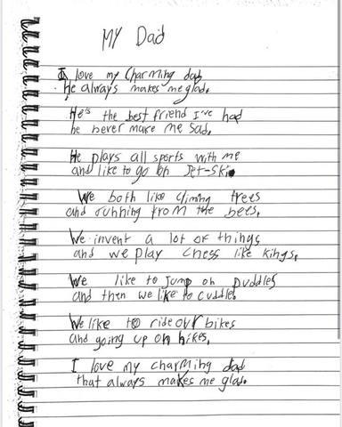 El tierno poema que Milan le ha dedicado a su padre Piqué