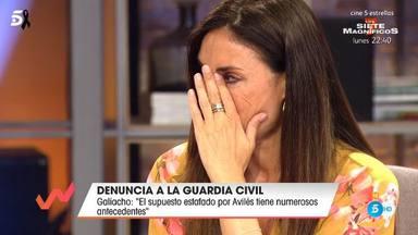 Isabel Rábago rompe a llorar en Viva la vida tras hablar de varias amenazas que ha recibido