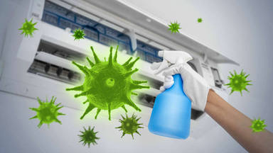 El aire acondicionado contagio coronavirus