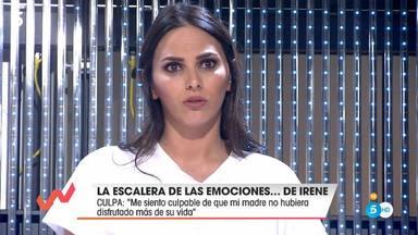 Irene Rosales se arrepiente de no haber dejado que su madre viviera más su vida antes de morir