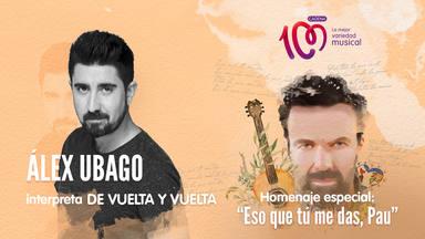 Álex Ubago interpreta 'De vuelta y vuelta' en el especial 'Eso que tú me das, Pau'