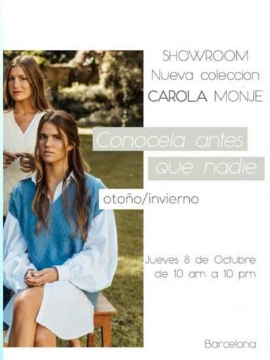 Carolina Monje Novia de Álex Lequio nueva colección