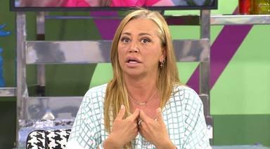 Belén Esteban explica cómo firmaron el acuerdo por la pensión de su hija ella y Jesulín