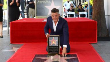 """Alejandro Sanz agradecido a todos por su """"estrella"""" en Los Ángeles, la ciudad que reservó un día en su honor"""