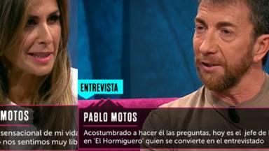 Nuria Roca y Pablo Motos