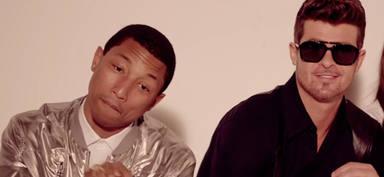 "Robin Thicke y Pharrell Williamscondenados por plagiar ""Blurred lines"""