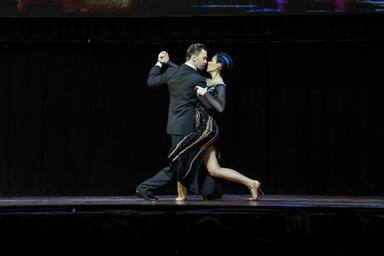 Argentina: Tango dance stage finale