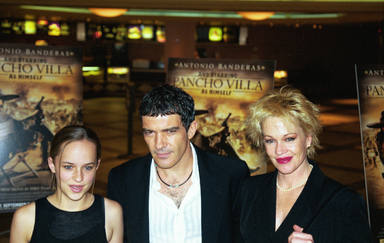 Dakota Johnson, Antonio Banderas y Melanie Griffith