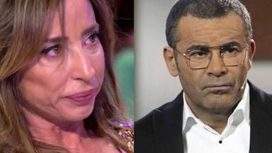 Jorge Javier Vázquez, ante el perdón de María Patiño: ''he estado en shock, me hiciste pasar un rato muy malo'