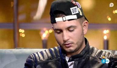 Omar Montes en el plató de 'GH VIP'