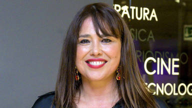 Minerva Piquero en la presentación de 'Nacida libre'
