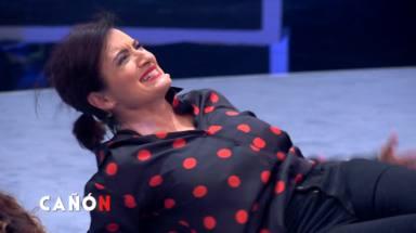 Silvia Abril sufre un ataque de risa en 'Me resbala' tras un descuido