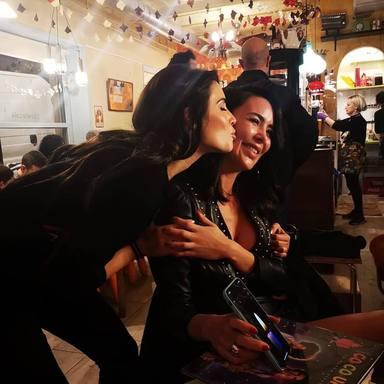 La bonita amistad de Pilar Rubio y Vania Millán