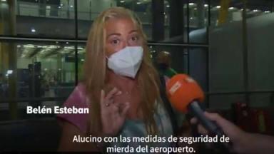 Belén Esteban ya está en Madrid