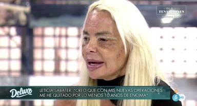 Leticia Sabater reaparece tras la muerte de su hermana