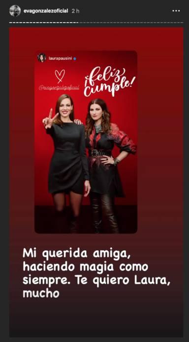 Felicitaciones a Eva González