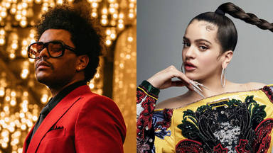 Tras el encuentro de Maluma con The Weeknd se especula con una colaboración de Rosalía con el canadiense