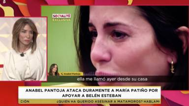 Anabel Pantoja le responde a María Patiño