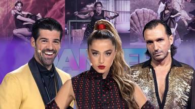 """Miguel Ángel Muñoz y Rafa Méndez bailan al ritmo de Lola Índigo en la final de """"The dancer"""""""