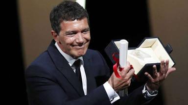 El emotivo discurso de Antonio Banderas tras recibir el premio a mejor actor en Cannes