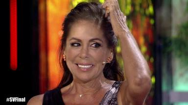 Isabel Pantoja en la final de 'Supervivientes 2019'