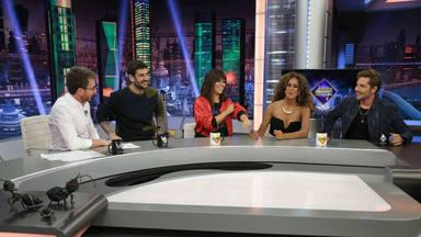 Pablo Motos, Melendi, Vanesa Martín, Rosario y David Bisbal en 'El Hormiguero'
