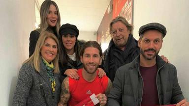 Sergio Ramos se rodea de su familia en un día muy especial de su carrera como futbolista