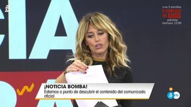 La noticia bomba que ha sacado a la luz 'Viva la vida' por la que Terelu se ha deshecho en lágrimas