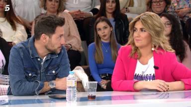 Antonio David charla con Carlota Corredera sobre Rpcío Flores