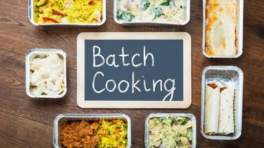 'Batch cooking' o cómo organizarte el menú semanal en poco tiempo