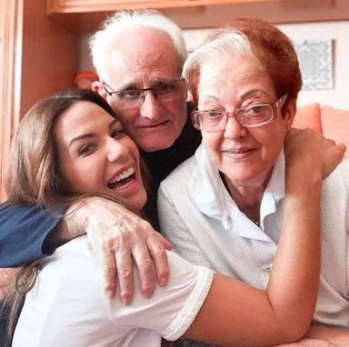 Tamara Gorro está muy unida a sus abuelos
