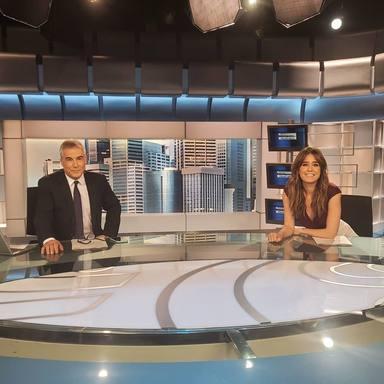 Informartivos Telecinco: David Cantero e Isabel Jiménez