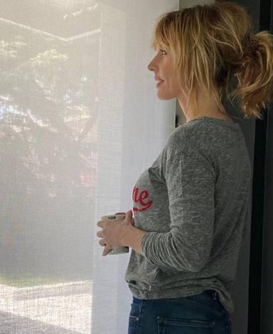 Emma García, en casa reflexiva