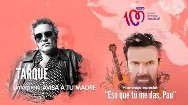Carlos Tarque interpreta 'Avisa a tu madre' en el especial 'Eso que tú me das, Pau'