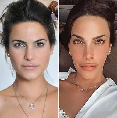 El antes y el después de Carla Barber en los últimos 10 años