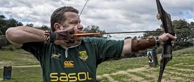 El tiro con arco es uno de los hobbies de Alberto Chicote