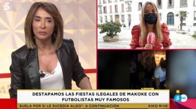 """María Patiño estalla ante las supuestas fiestas ilegales de Makoke: """"Me pone de los nervios"""""""