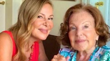 Las lágrimas de alegría de Ana Obregón y el vídeo reencuentro con su madre